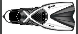 Mares Adjustable Travel Snorkelling Fin