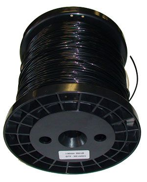 Black Monofilament Shooting Line 1.8mm 350lb