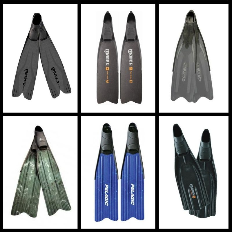 Choosing a Freediving or Spearfishing Fin