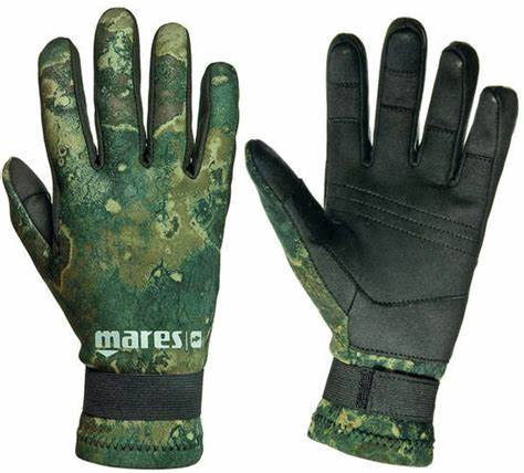 Mares Amara Camo Glove 2mm Green