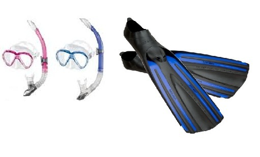Mares Bonito Mask and Oceanic Viper Fins Pack