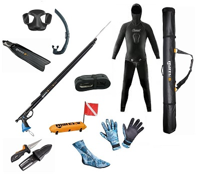 The Mares Ultimate Spearfishing Package