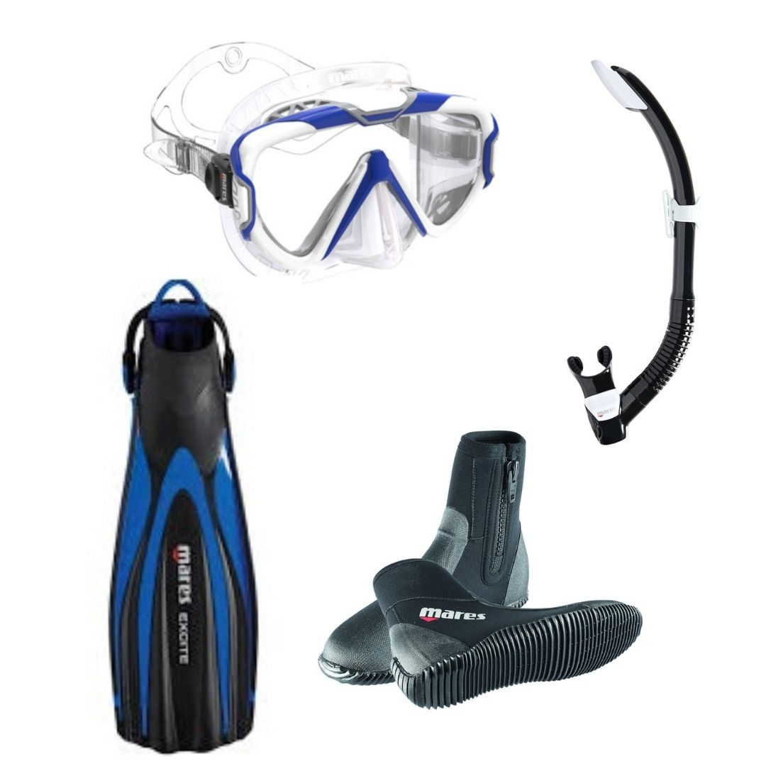 Mares Pure Wire and Excite Fin Pack