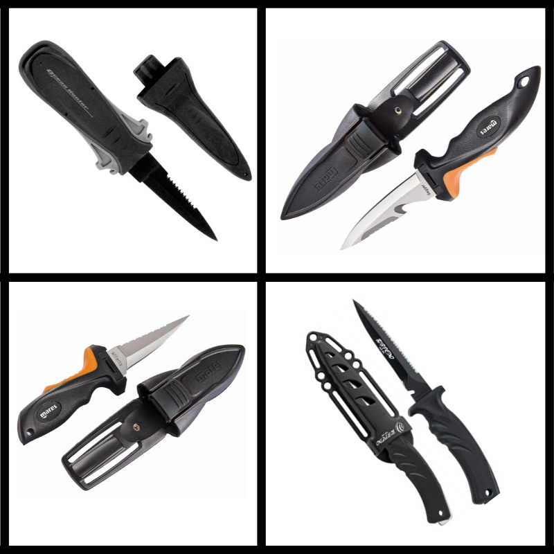 Spearfishing Knives