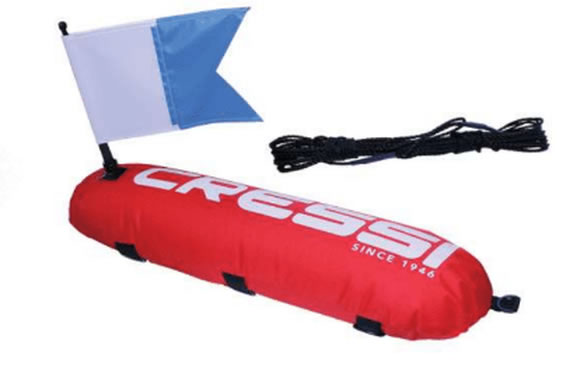 Cressi 17Lt Inflatable Float