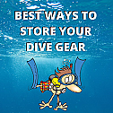 How To store your Dive Gear