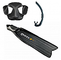 Mares Viper Mask and Razor Pro Fin Pack