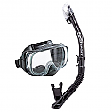 Tusa Sport Imprex 3D Dry Mask and Snorkel Combo