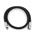 Ocean Pro Braided LP Hose Black 36""
