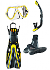 Mares X-Vision and Volo Power Fin Pack