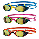 Zoggs Fusion Air Gold Mirror Goggle