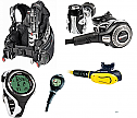 Mares Dragon SLS BCD and Abyss 52X Package